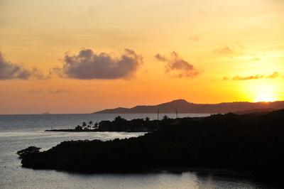 Sonnenuntergang Roatan (Honduras)