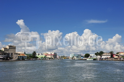 Belize City / Hafen Belize Karibik