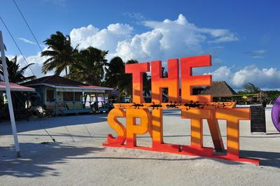 The Split Caye Caulker Beach (Belize)