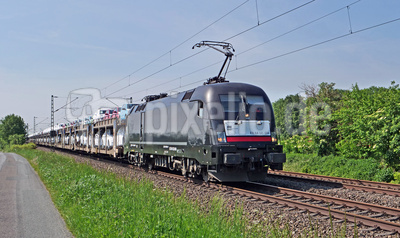 Autozug im Münsterland