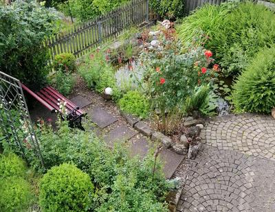 Ein schöner Garten…(hier: Feuchtbiotop)