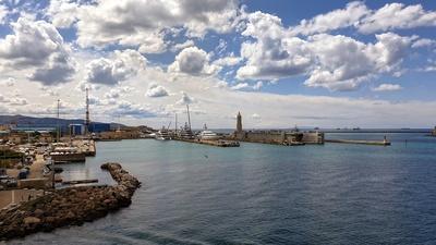 Fährhafen in Livorno