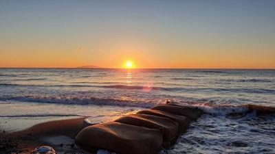 Sonnenaufgang in Folelli
