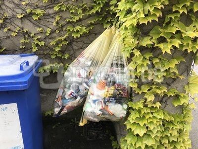 Mülltrennung: Gelber Sack