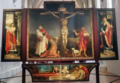 Isenheimer Altar v. Matthias Grünewald in Colmar