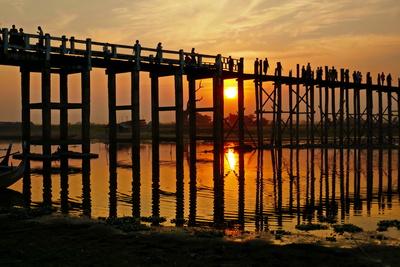 U-Bein-Brücke in Myanmar