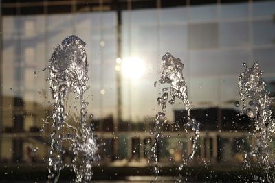 Tanzende Wasser