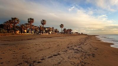 Sonnenaufgang am Strand von Folelli