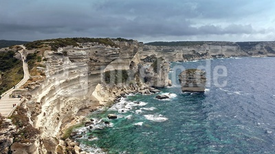 Traumhafte Ausblicke auf die Küste vor Bonifazio