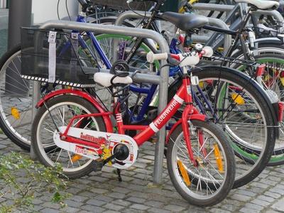 Fahrrad-Feuerwehr