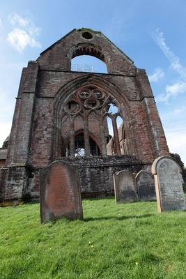 Eine Ruine in Schottland