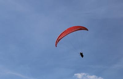 Paragliding in der Rhön
