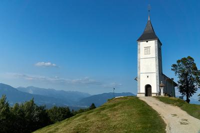 Schöne Kirche in Oberkrain (SLO)