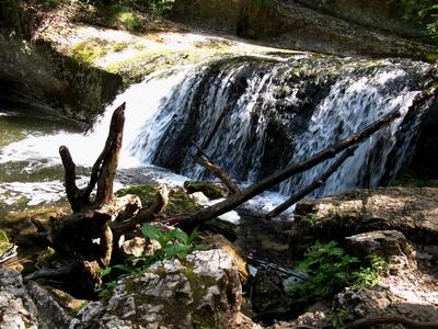 Idylle am Wasserfall