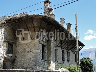 Skenduli Hauses in Gjiakostra, Albanien