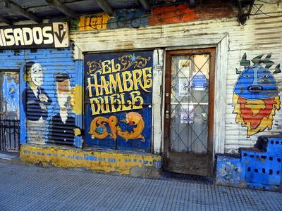 La Boca in Buenos Aires, Argentinien
