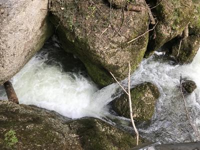 Wassergischt: Eistobel im Allgäu