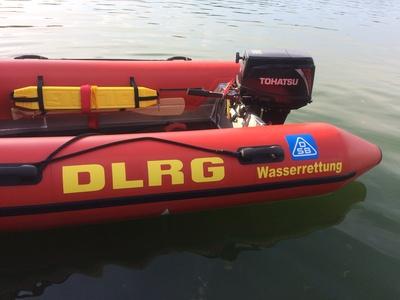 Motorrettungsboot der DLRG