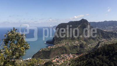 Der Adlerfelsen auf Madeira