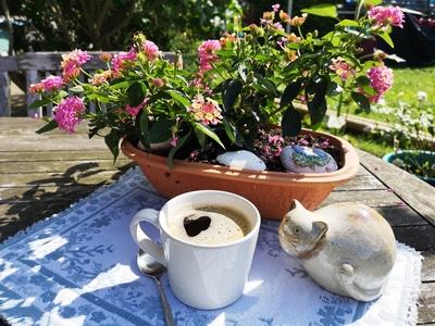 Kleine Kaffeepause