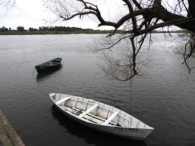 Am Rio Negro bei Mercedes, Uruguay