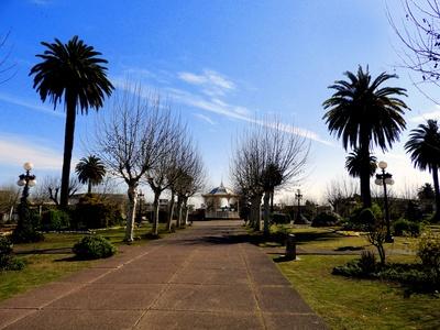 Plaza Constitución in Fray Bentos, Uruguay