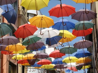 Die Schirme von Gandia