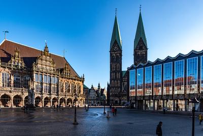Der Marktplatz von Bremen