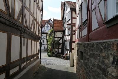 Altstadtgasse in Alsfeld