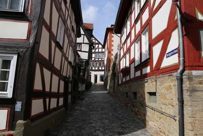 Altstadtgasse in Alsfeld 1