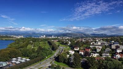 Blick über Stavanger