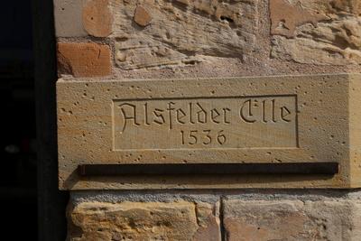 Alsfelder Elle Anno 1536
