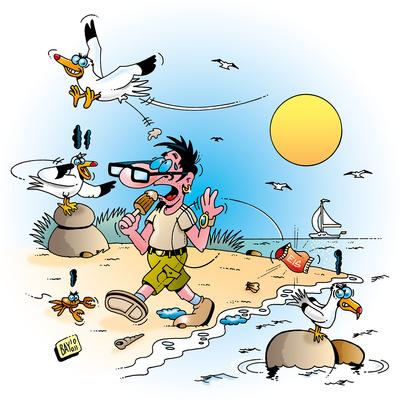 Klimawandel: Kein Plastik ins Meer!