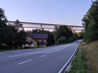 Waldbahnbrücke bei Regen/Niederbayern