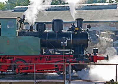 Dampftag im Eisenbahnmuseum