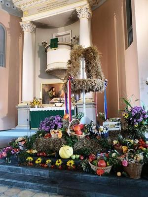 Erntedank in der Kirche