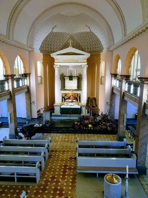 Ev. Kirche an Erntedank