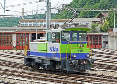 BLS-Schientraktor