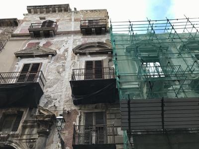 Hausruine in Palermo