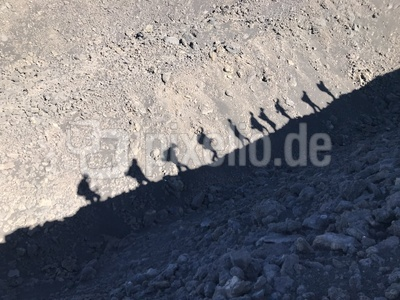 Schattengruppe am Ätna