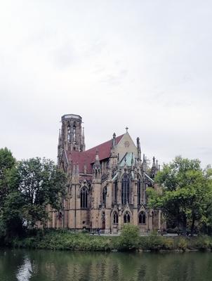 Stuttgart: Johanneskirche am Feuersee