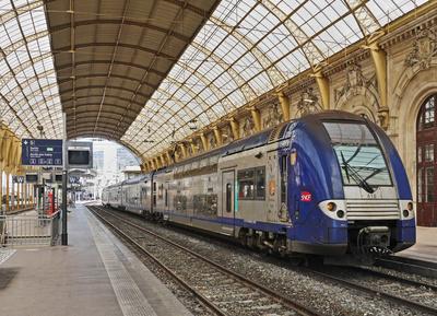 Im Hauptbahnhof von Nizza