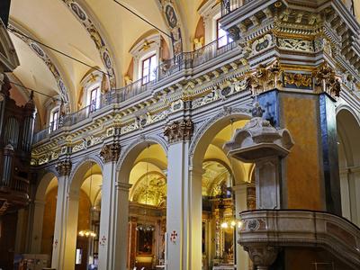 In der Kathedrale von Nizza