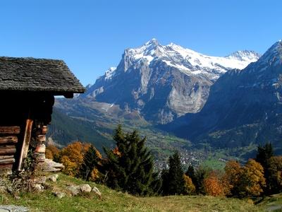 Herbststimmung oberhalb Grindelwald