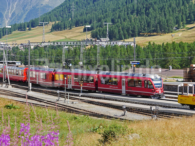 Alpen-Aussichtszug