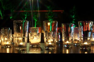 Gläser voll Licht