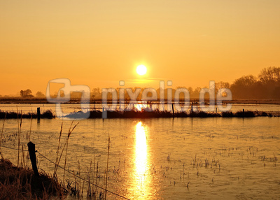 Borgfelder Dezember-Sunrise