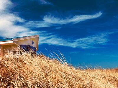 Sommerhaus im Wind