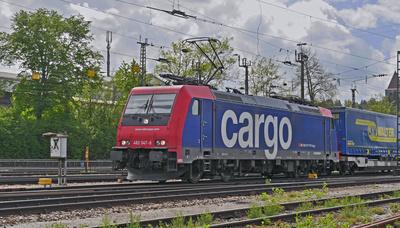 LKW-Zug