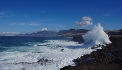 Blick vom Punta Pesebre